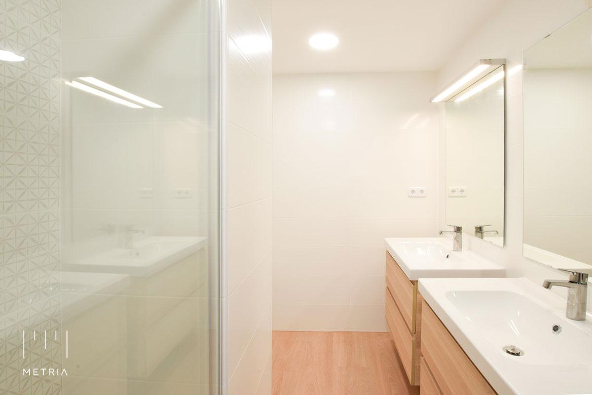 Reforma piso baño