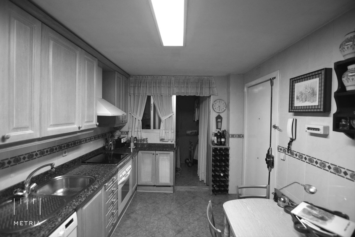 Reforma piso cocina antes