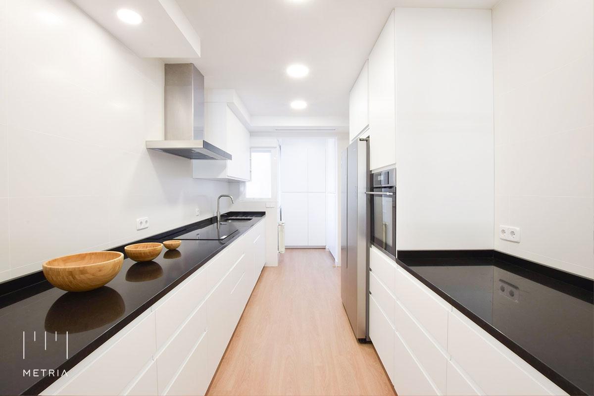 Reforma piso cocina