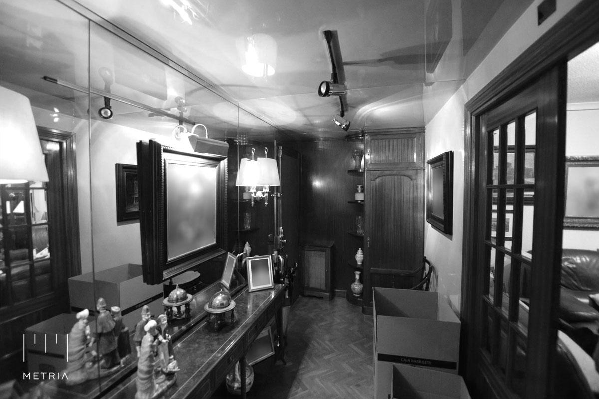 Reforma piso recibidor antes