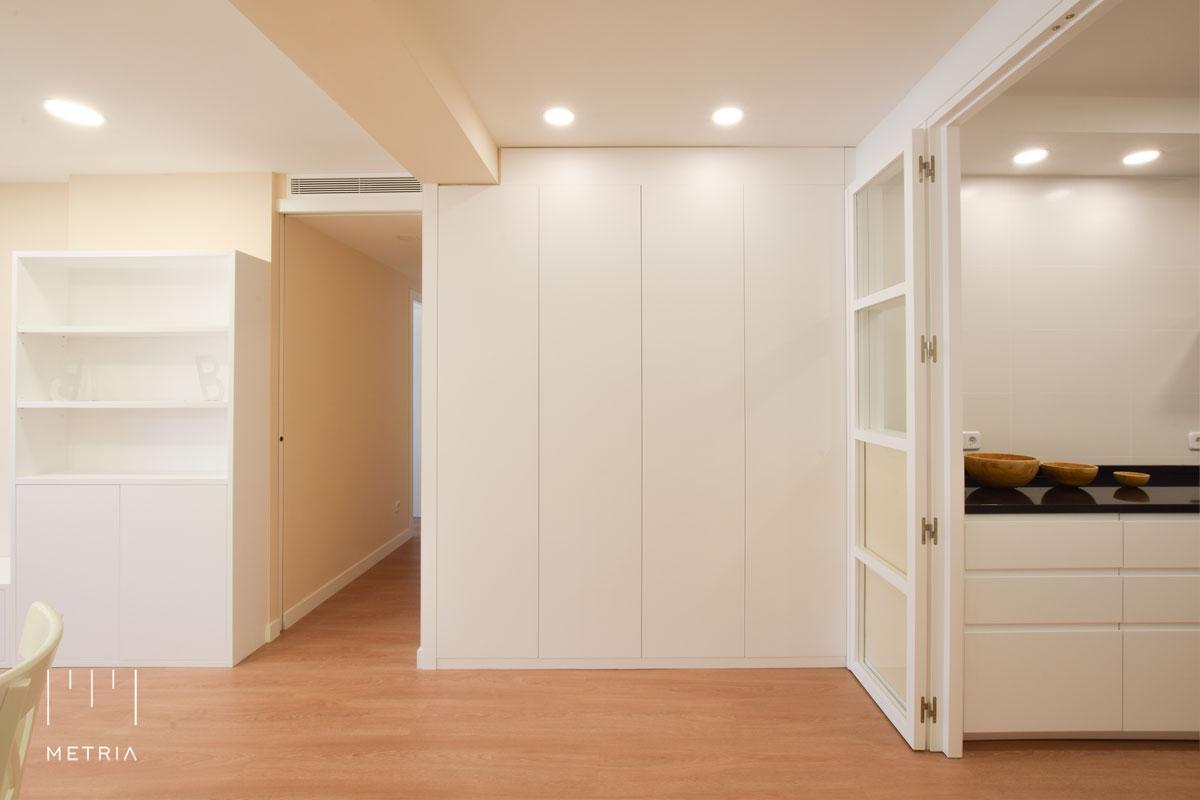 Reforma piso armario recibidor